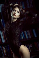 lots of books by darkelfphoto