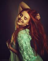 redhead by darkelfphoto