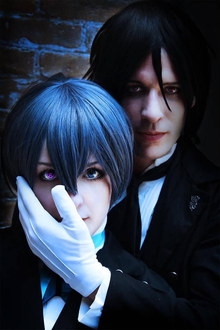Ciel and Sebastian Cosplay by MelfinaCosplay