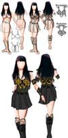 Xena Season 7 Hero Costume by mynando
