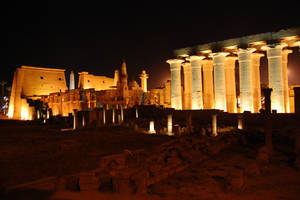 Luxor Temple 2 by mynando