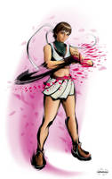 Sakura Super Street Fighter IV by mynando
