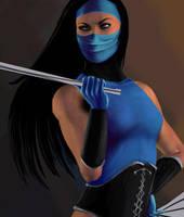 Mortal Kombat Kitana W.I.P. 2 by mynando