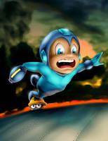 Mega Man by mynando