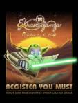 Lawrence As Yoda by mynando