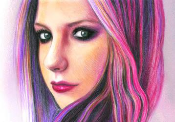 Avril Lavigne by vivsters