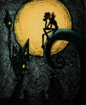 Nightmare Before Christmas - color by vivsters