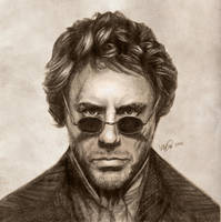 Robert Downey Jr: Sherlock Holmes by vivsters