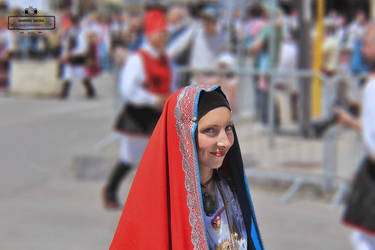 Costume of Cagliari by gianf