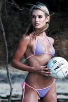 Beach Volleyball by Tonyr