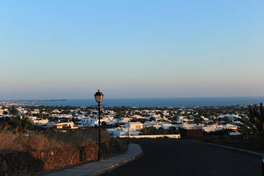 Town on Lanzarote by The-Bardess
