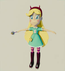 Star Butterfly Wip by lethal234