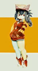 Asui tsuyu from boku no hero by lethal234