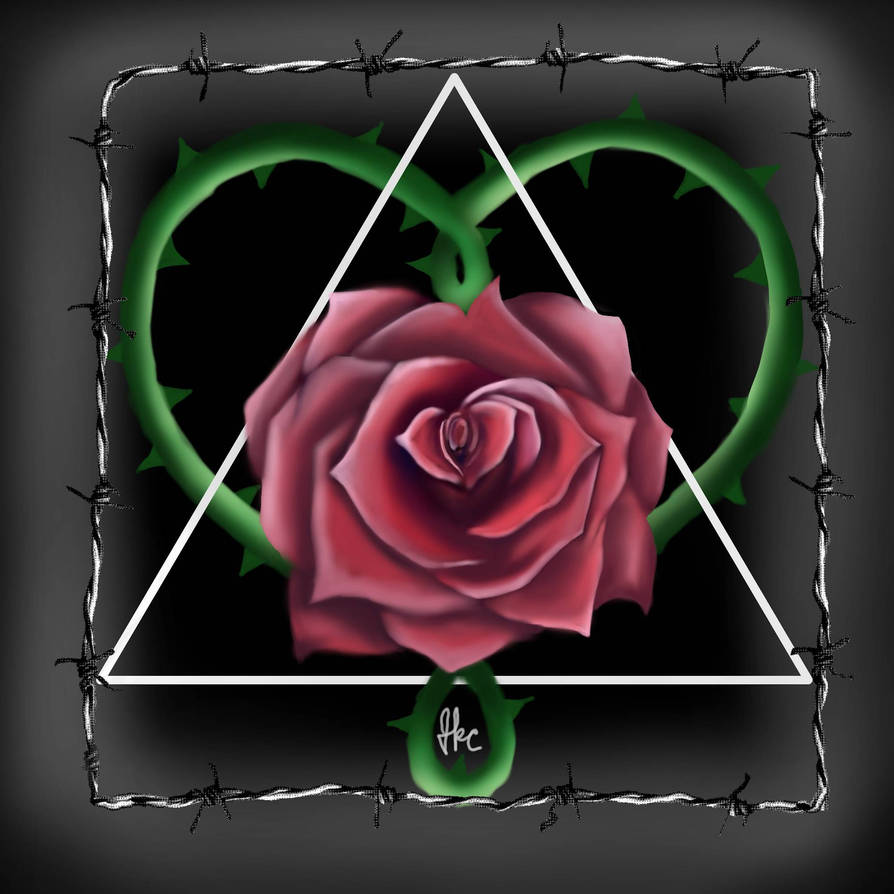 Rose T-Shirt Design by Honeycomb1011