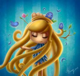 Blue Birds by PauBuenoZ