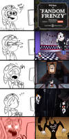 Fandom Frenzy reactions by KarlaDraws14