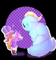 .:New Fluffy Friend:. by KarlaDraws14
