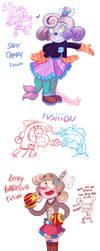Fusion Kids by KarlaDraws14