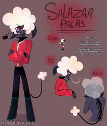 Salazar Palms - Hazbin Hotel Oc by KarlaDraws14