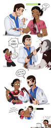 This happend to me when i was playing it by KarlaDraws14