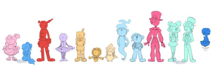 Child Sizes by KarlaDraws14