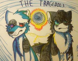 The Tragedies poster by TsunamiArtzzz