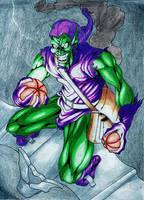 Green Goblin by Bihumi