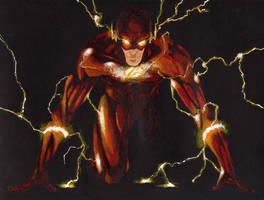 The Flash by Bihumi