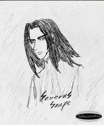 Severus is my God by szellemszallas