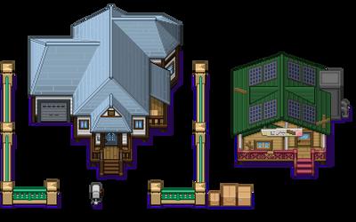 Pokemon Sun + Moon - Melemele Island Tiles by morlockhater