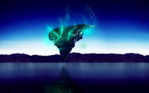 Spaceship in coming by Dreamviewcreation
