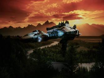Spaceship3 by Dreamviewcreation