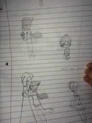 Sketch Dump lol by CamerynTheCat