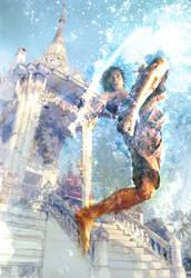 Tony Jaa Jumping Knee by Zornhut