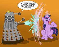 MLPFIM: Pony vs. Dalek 2 -- Twilight Sparkle by the-gneech