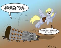 Ponies vs. Daleks, Season Two -- Derpy by the-gneech