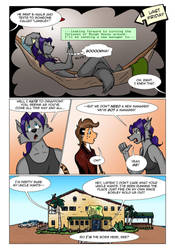 Rough Housing Issue One Page Three by the-gneech