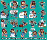 Nii-chan Telegram Stickers by the-gneech