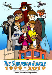 Twenty Years of The Suburban Jungle! by the-gneech