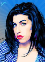 Amy Winehouse by fabulosity
