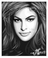 Old Eva Mendes Vexel by fabulosity