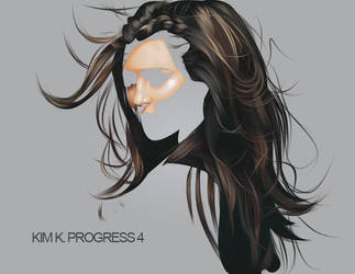 KIM K. PROGRESS 4 by fabulosity