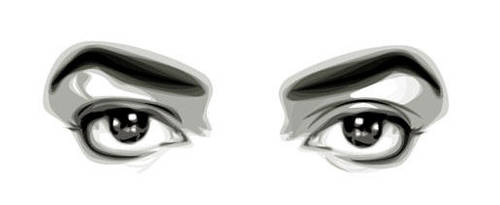Michael Jackson's Eyes by fabulosity