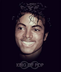 King of Pop Michael Jackson by fabulosity