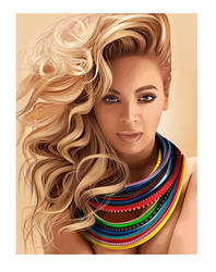 Beyonce On The Sun by fabulosity