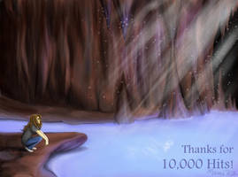 Cave Lake - Thanks for 10000 by UmiKit
