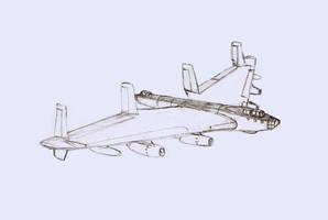 Carandian Strategic bomber Vulcan Mk II by dan338