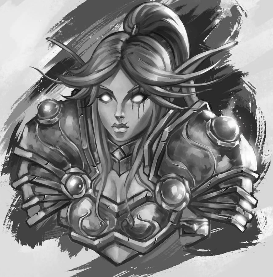 Warrior elf by MilarS