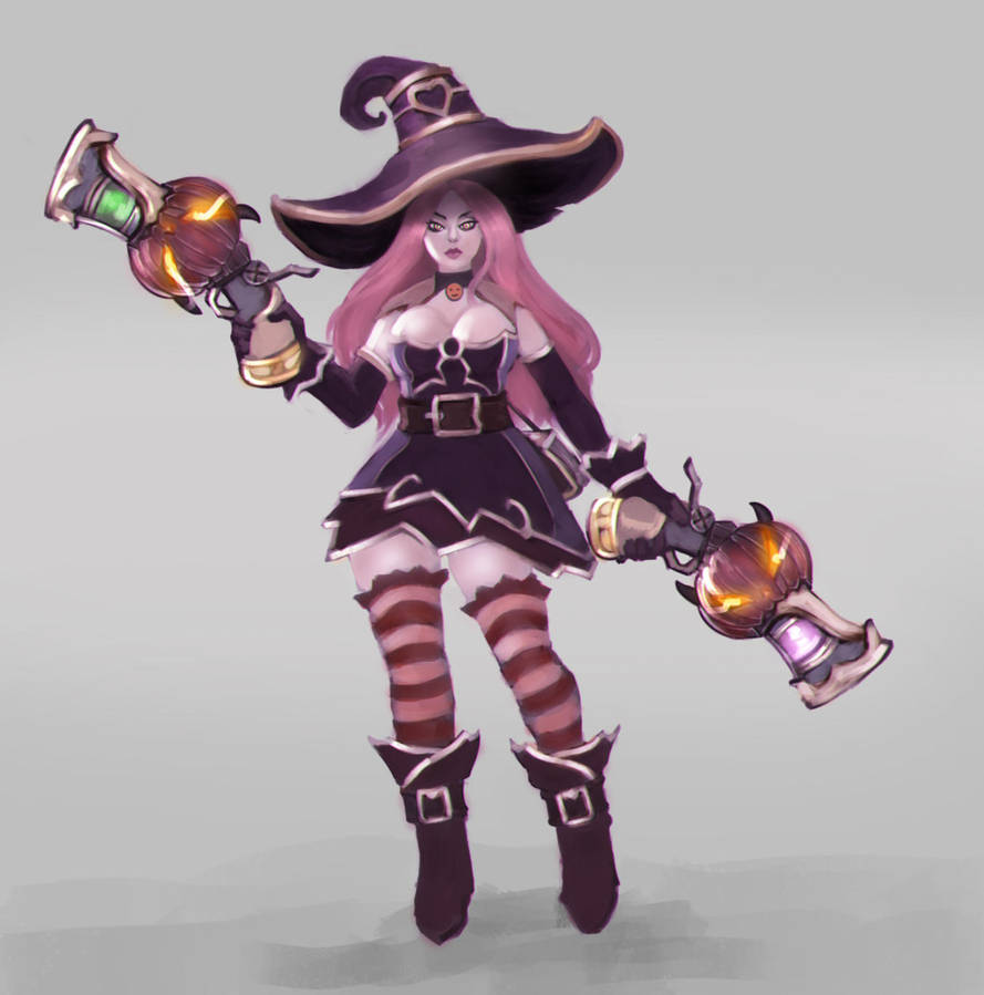 Miss Fortune Bruja Armada by MilarS
