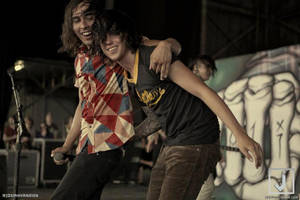 Vic Fuentes and Kellin Quinn by Xerlash